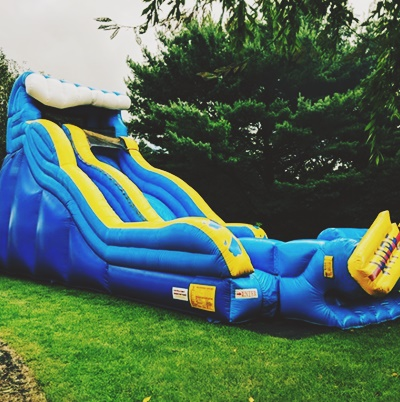 Blow Up Water Slide Rental For Your Wedding